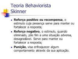 behaviorismo condicionamento operante positivo contingência - Pesquisa Google