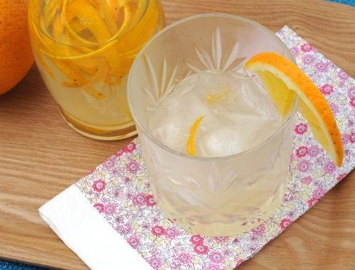Apelsinlikör likör med apelsinsmak
