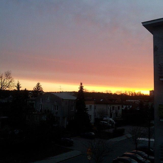 #sunrise warto się na chwilę obudzić dla takich widoków:)