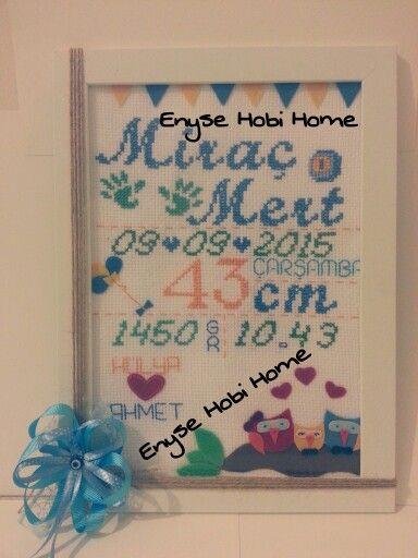 Enyse Hobi Home Enise / Etamin doğum panosu
