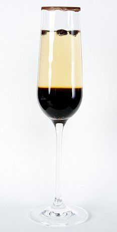 The Patrón Royal Coffee Cocktail - get recipe here: http://www.dailymail.co.uk/femail/food/article-1262582/Recipe-Patr-n-Royal-Coffee-cocktail.html