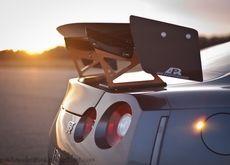 sunset cars vehicles jdm japanese domestic market nissan r35 gtr taillights nissan gtr r35 Wallpaper: