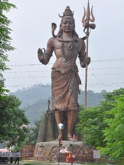 Statue of Shiva.