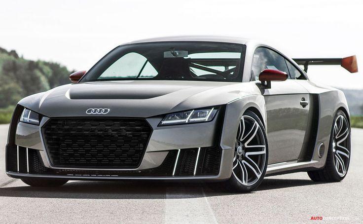 Visit The MACHINE Shop Café... ❤ Best of Audi @ MACHINE... ❤ (The Audi TT Clubsport Turbo)