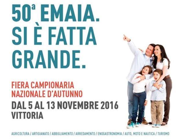 #Rilancio e voglia di #futuro il tema dell'edizione numero 50 della #Fiera #Emaia. Gli #appuntamenti partiranno sabato 5 Novembre per concludersi il 13 Novembre. #Vittoria #Ragusa #Sicilia #eventi #novembre #campionari #eccellenze
