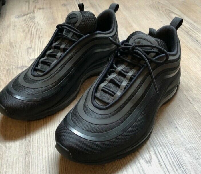 NIKE Air Max 97 Herren Sneaker Schwarz Schuhe, Gr | real