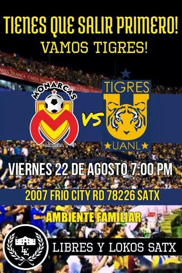 """EXICANOS Y MEXICANAS... ¡¡¡ ♡ HOY GANAN MIS TIGRES ♡ !!! ACOMPAÑANOS Y JUNTOS DISFRUTAREMOS DE UN GRAN JUEGO @  """" LA CUEVA  2007 ..FRIO CITY RD.SAN ANTONIO, TX..78226 ....@@@ NO SE PERMITEN PLAYERAS DE OTROS EQUIPOS @@@"""