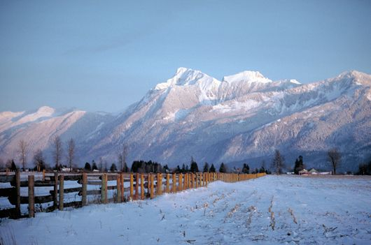 Whats not to love about this View Chilliwack!!! What a Great City in the Country we have!!!  Mt. Cheam in the Winter