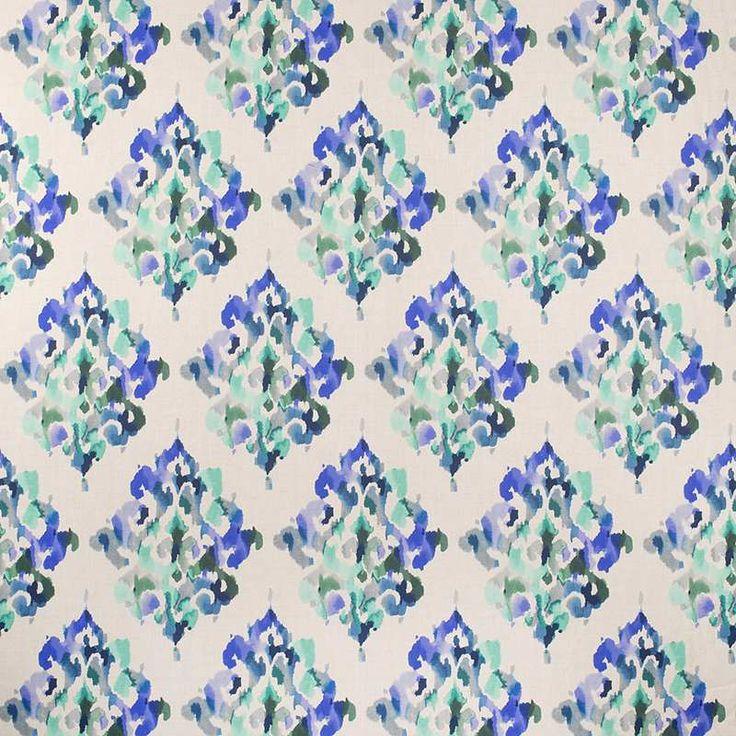 Warwick Fabrics : AKARI, Colour AQUAMARINE
