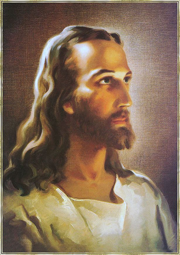 Jesus Christ  This 1940 painting has been reproduced over 500 million times, making it one of the most popular works of art in history. Date: 1940. Artist: Warner Sallman.