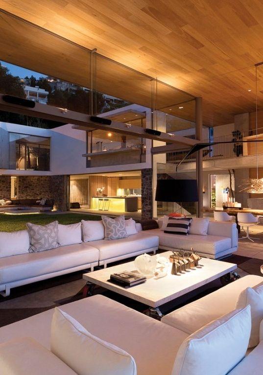 Modern house home interiors.