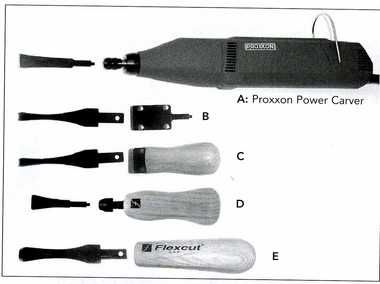 """Wood Power Carving Tools 