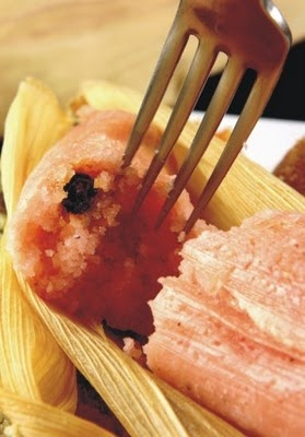 Think Pink!  Tamales de Azucar