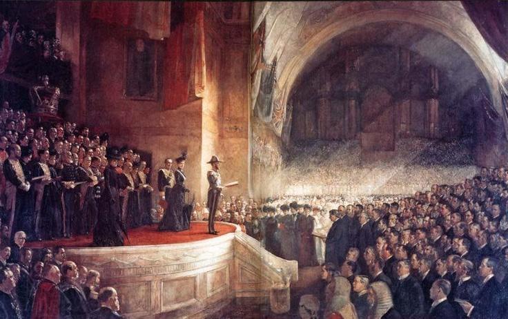 "Tom Roberts-""The First Australian Parliament' 1901 -Melbourne-"