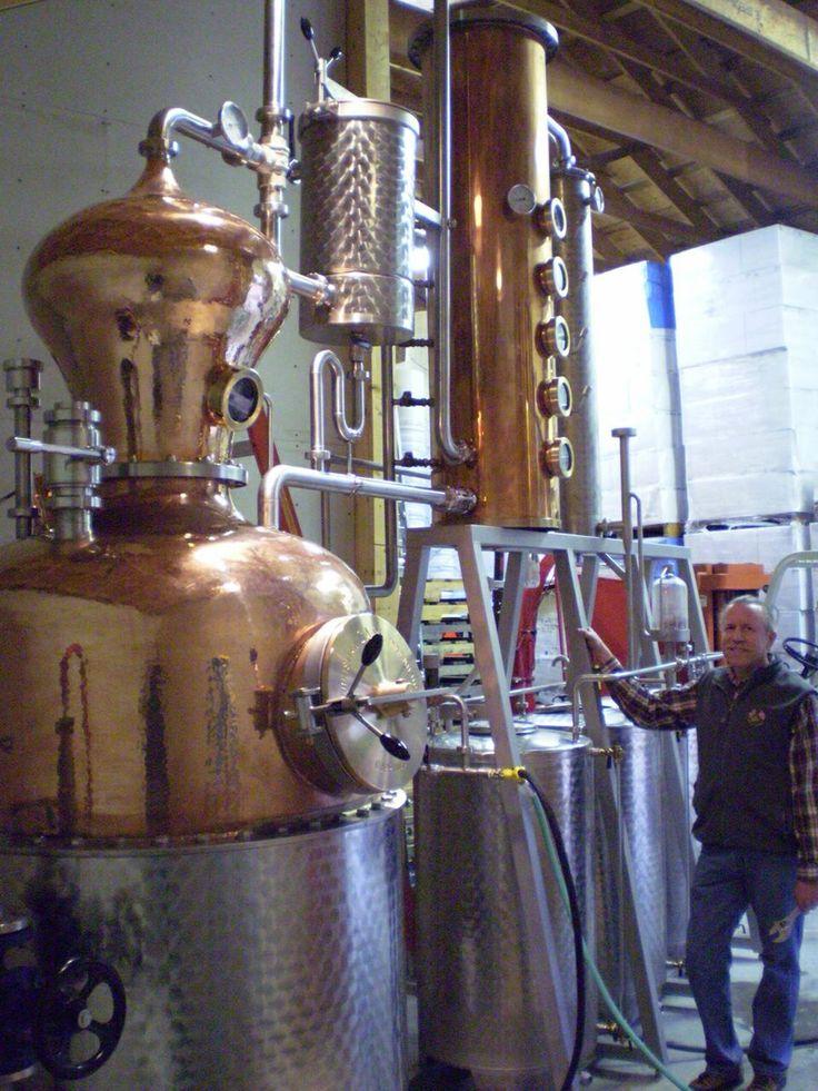 Carl still Distilling alcohol, Distillation, Distillery
