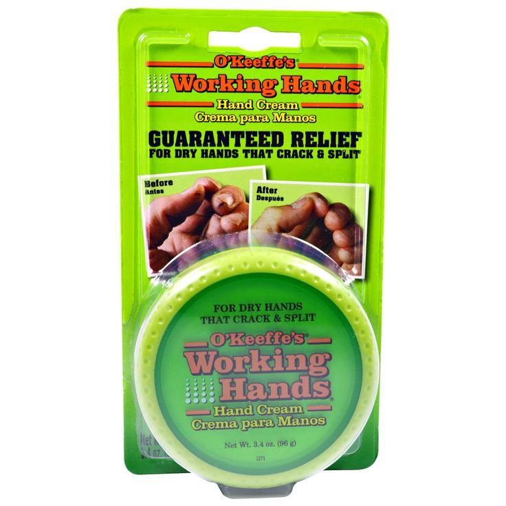O'Keeffe's, Working Hands, Hand Cream, 3.4 oz (96 g)