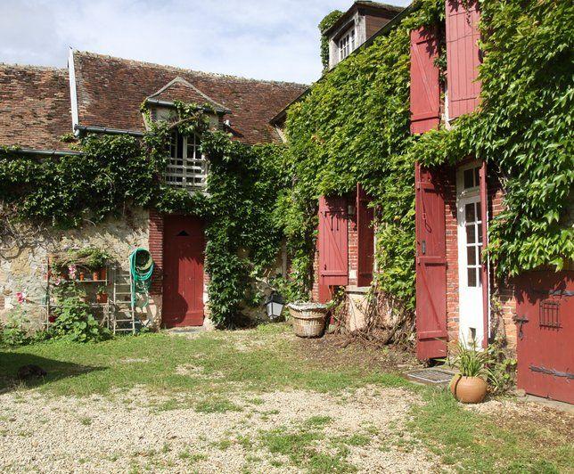 Photo Deco : Terrasse, balcon, veranda  Rouge  Campagne   Maison De Campagne A
