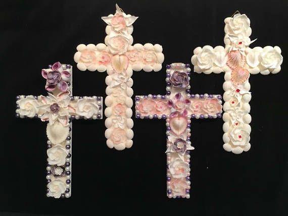 Crosses.  Religious art.  Communion gift .  Baptism gift .
