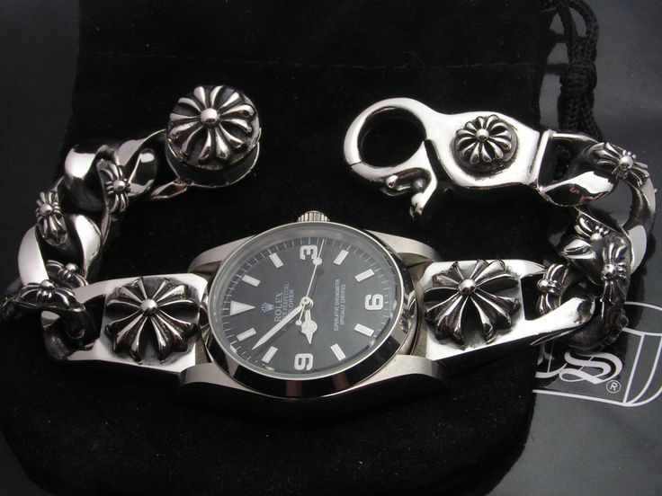 chrome hearts watch bracelet - Google Search