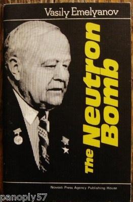 """THE NEUTRON BOMB"" by Vasily Emelyanov, Russian Pamphlet Against USA's Bombs | eBay $125"