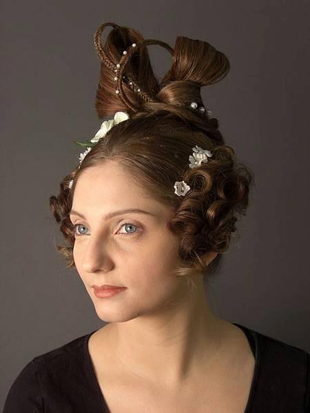 Biedermeier Hair StylesHair style from 2010 Students of Bayerisch Theater Akademie  By Jelka Hesse