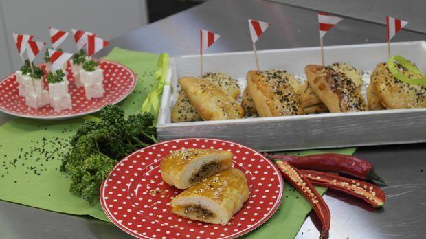 Meltem Kaptan bringt türkisches Flair in Enies Küche. Sie zeigt unserer Küchenfee, wie man ein typisches Gericht der türkischen Küche zaubert.Lecker würzig sind die Teigtaschen.