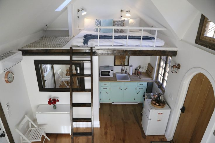 Woodland-tiny-house | A 216 square feet tiny house in Nashville, Tennessee.