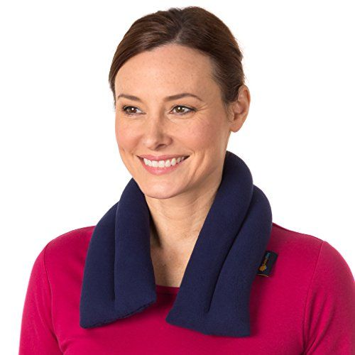 Extra Long Neck Heating Wrap By Sunny Bay - Neck Pain Relief, Microwave Heat Pad, Bean Bag, Hot & Cold Therapy, Neck Shoulder Heat Pack, Back Pain Relief (midnight blue). PAIN RELIEF: Release muscle strain and torment in neck and shoulders in the workplace, auto, or at home THERAPEUTIC: Easy to warm in the Best Offer