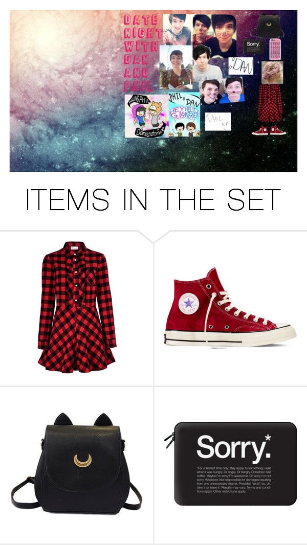 """""""Date Night With Dan And Phil"""" by milliegeek on Polyvore featuring art"""