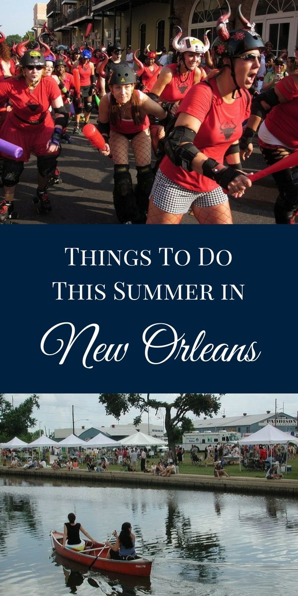 With long, warm days in NOLA on the horizon and special summer room rates in effect, we wanted to provide a snapshot of the many great events offering summer fun in New Orleans during the next few months.