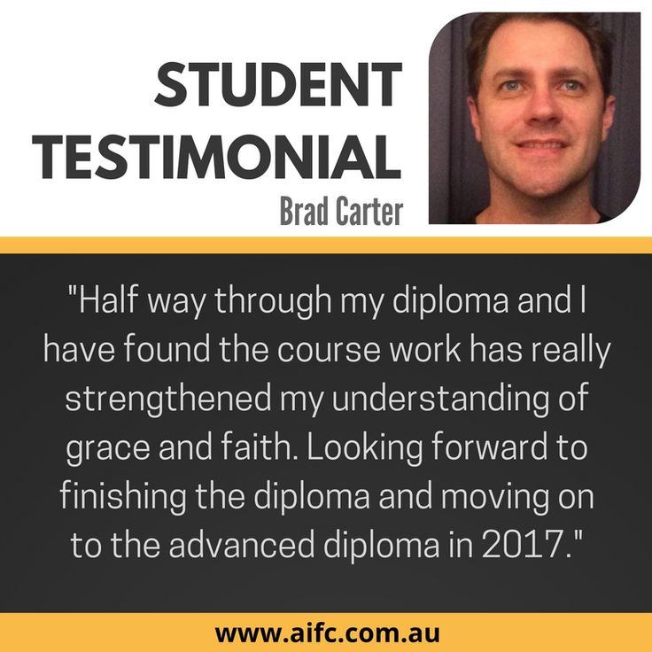 Students are spreading the word about aifc's accredited Christian counselling courses.