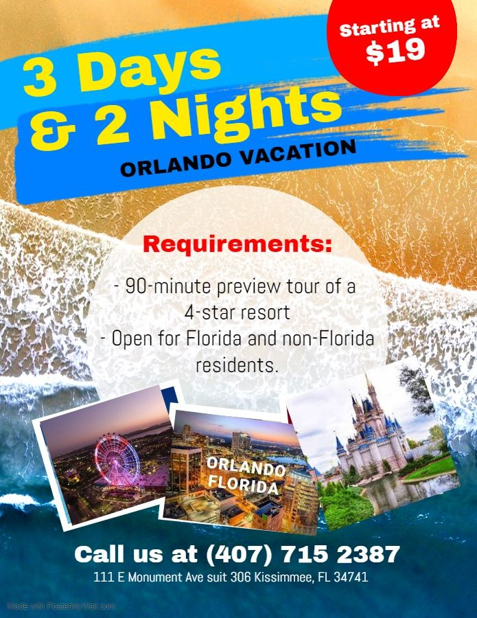 In Orlando Florida Anything Is Possible Throw In Dozens Of Other Exciting Attracti Orlando Theme Park Tickets Disney World Tickets Universal Studios Tickets