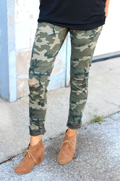 Front Lines Camouflage Skinny Jeans ~ Camo ~ Sizes 1-13