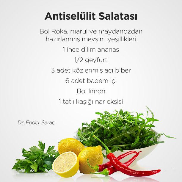 Anti-Selülit Salatası