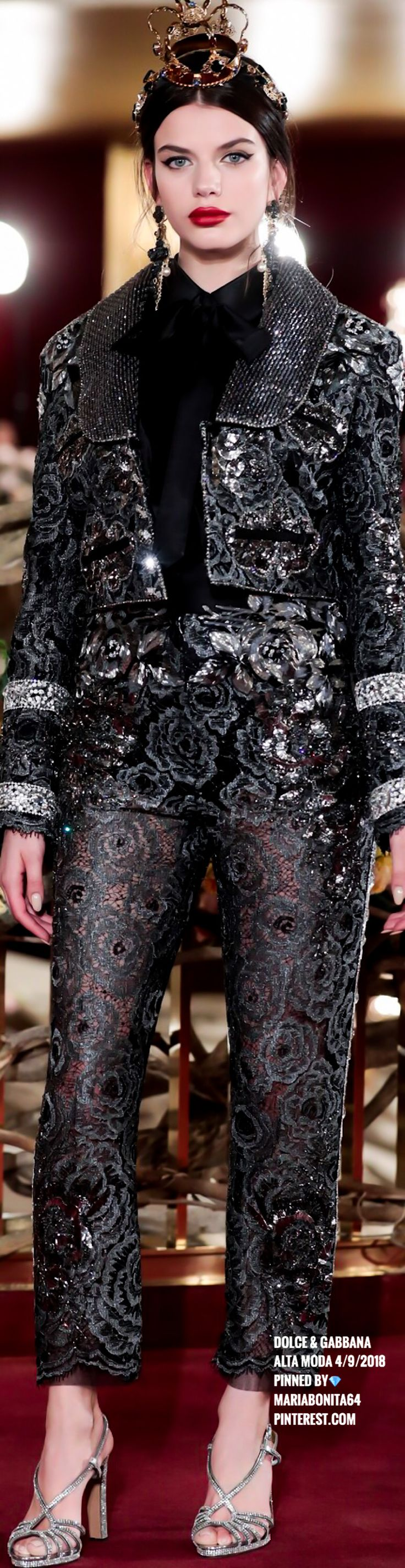 Dolce & Gabbana Alta Moda Show April 2018