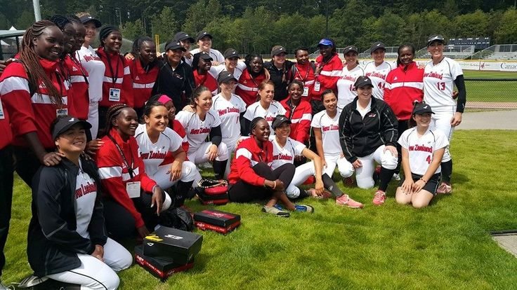 White Sox with Team Kenya at the Women's World Championships, 2016.