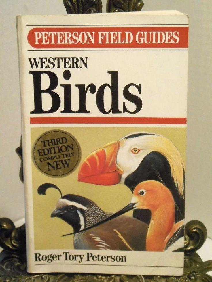 WESTERN BIRDS Peterson Field Guide Identification Identify Birds Birding 3rd Ed