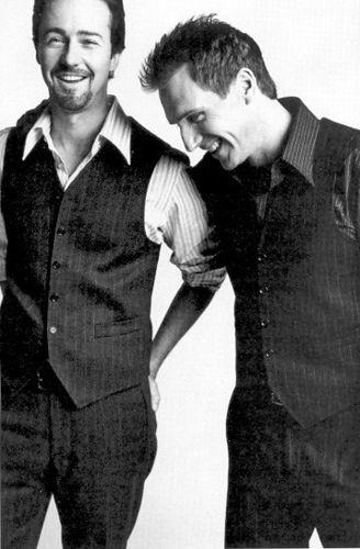 Edward Norton and Ralph Fiennes, de los mejores malos del cine!