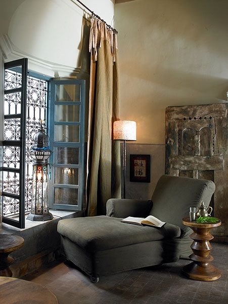 Ryad Dyor - Photo Galleries: Study Nooks, Window, Maroccan Style, Arabian Style, Ryad Dyor, Photo Galleries, Dyor Marrakech, Reading Spaces, Ryad Official