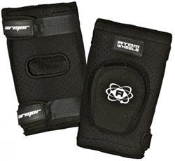 Skate Out Loud Atom Armor Elite Elbow Pads Protective Gear Varies by size by Skate Out Loud. $49.00. Atom Armor Elite Elbow ,Pads feature hard plastic cap with Kevlar. High-density impact foam pre shaped ,for precise positioning. Heavy-Duty,perorated neoprene for mobility,comfort ,and security. Silicon strip to prevent them from sliding down. Upper and lower ,adjustable Velcro straps.