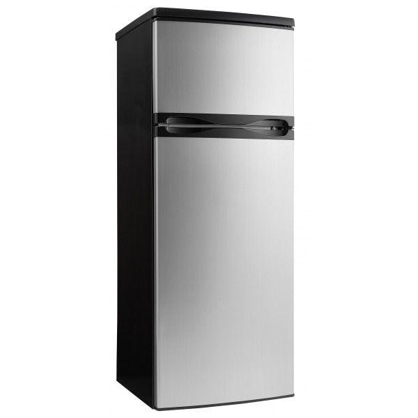 Danby DPF073C1BSLDD 7.3CF Apartment Size Refrigerator Stainless Steel Finish
