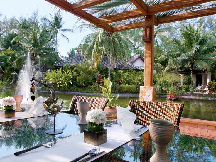 Authentic Thai cuisine at Baan Thai Restaurant. Le Meridien Khao Lak Beach & Spa Resort, Thailand  www.islandescapes.com.au