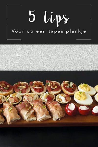 5 tips voor een heerlijk tapasplankje gewoon bij je thuis! ✘ Keywords ✘ Tapas | Recipes | Easy | Recepten | DIY | Ideas | Plankje | Chicken | Vegan