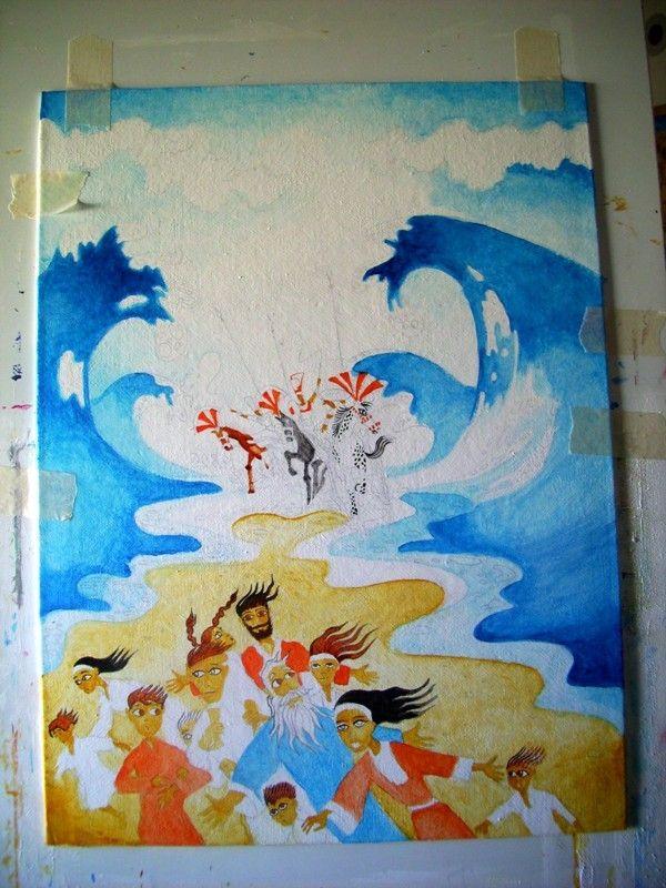 Darius Gilmont, Work in Progress: Crossing the Red Sea (Exodus)
