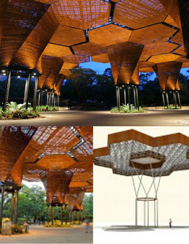 The Medellin Botanical Garden, Colombia by Architects: Plan B – Felipe Mesa, Alejandro Bernal + JPRCR – Camilo Restrepo, J. Paul Restrepo