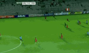 Funny images of the day (43 pics) Goalkeeper Big Save (Gif)