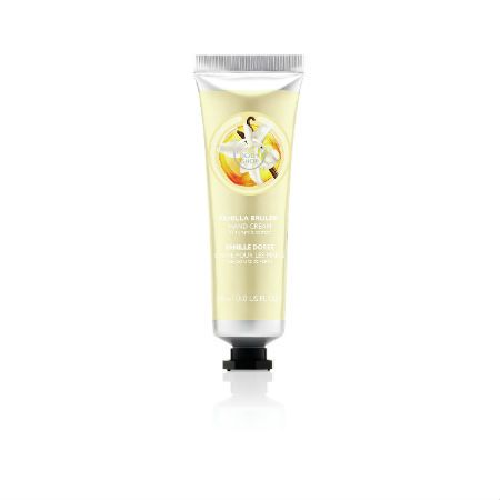 The Body Shop Limited Edition Vanilla Brulee Hand Cream
