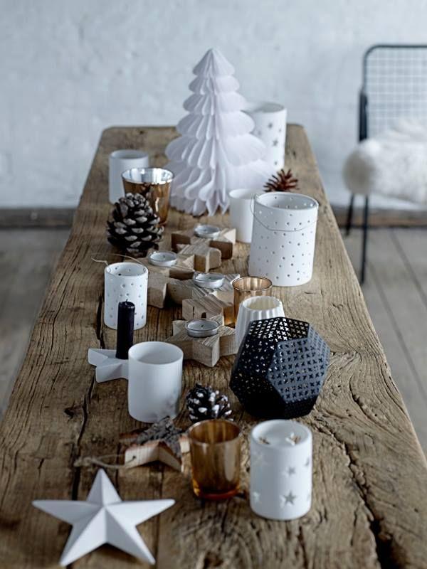 tables merry christmas christmas idea christmas spirit table noel ...