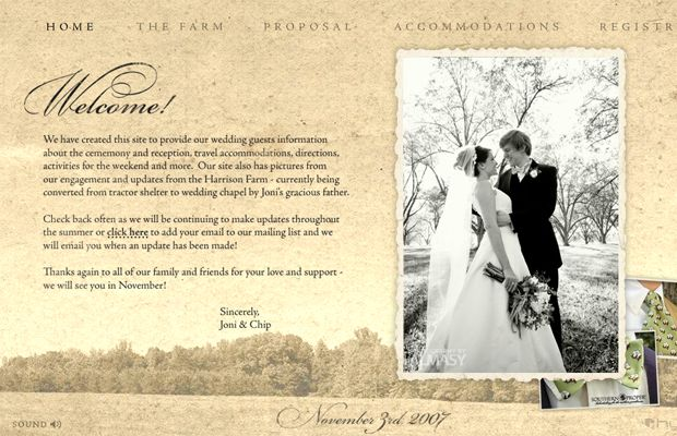 Wedding Websites Ideas: 7 Best Wedding Website Design Ideas Images On Pinterest