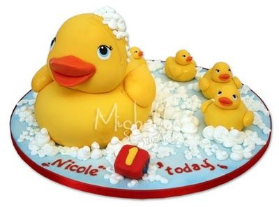 Can I request this cake for my future baby shower? Rubber duck cake ....It doesn't get any better than this!!!!